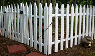 WoodPatternExpert GARDEN FENCE Paper Plans SO EASY BEGINNERS LOOK LIKE EXPERTS Build Your Own CIVIL WAR PICKET STYLE Using This Step By Step DIY Patterns