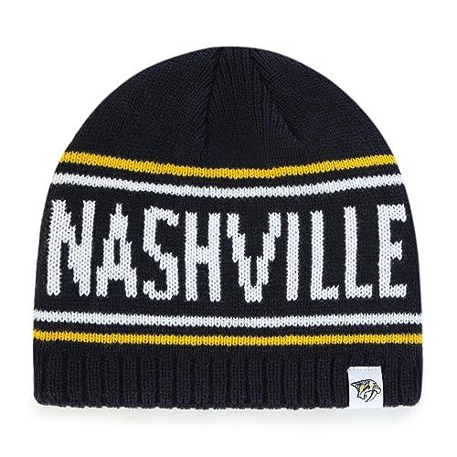 a3f3b5eb4b45ad OTS NHL Adult Men's NHL Thorsby Beanie Knit Cap