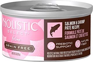 Eagle Pack & Holistic Holistic Select Natural Wet Grain Free Canned Cat Food Salmon & Shrimp Pâté