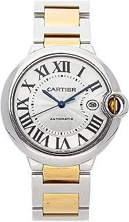 Ballon Bleu de Cartier Mechanical (Automatic) Silver Dial Mens Watch W2BB0022 (Certified Pre-Owned)