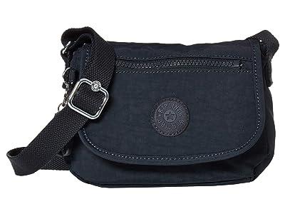 Kipling Sabian Crossbody Mini Bag (Blue/Blue) Handbags