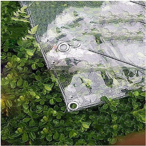 SJMYBB Bache Bache Transparente 0,3 mm d'épaisseur Convient Les Voyages en Plein air Camping Maison Pique-Nique véhicule Camping randonnée pêche Cargaison Couverture (Taille   2.4  2m)