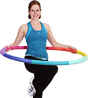 Sports Hoop Weighted Hoop,  Weight Loss ACU Hoop 5L - 4.9lb (41.5 inches Wide) Large,  Weighted Fitness Exercise Hula Hoop