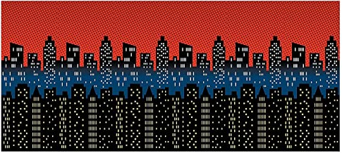 Best city scene design a room background Reviews