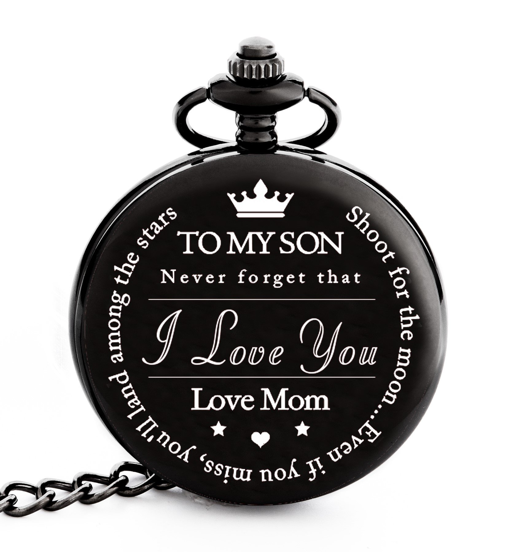 To My Son | Mother and Son Gift - Engraved u201cTo My Son Love Mom  sc 1 st  Amazon.com & College Graduation Gifts for Him: Amazon.com