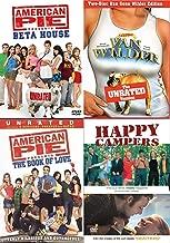 Happy Summer College Comedies - American Pie Beta House, Van Wilder National Lampoon + Book of Love & Happy Campers 4-Comedy DVD Wild Party Bundle