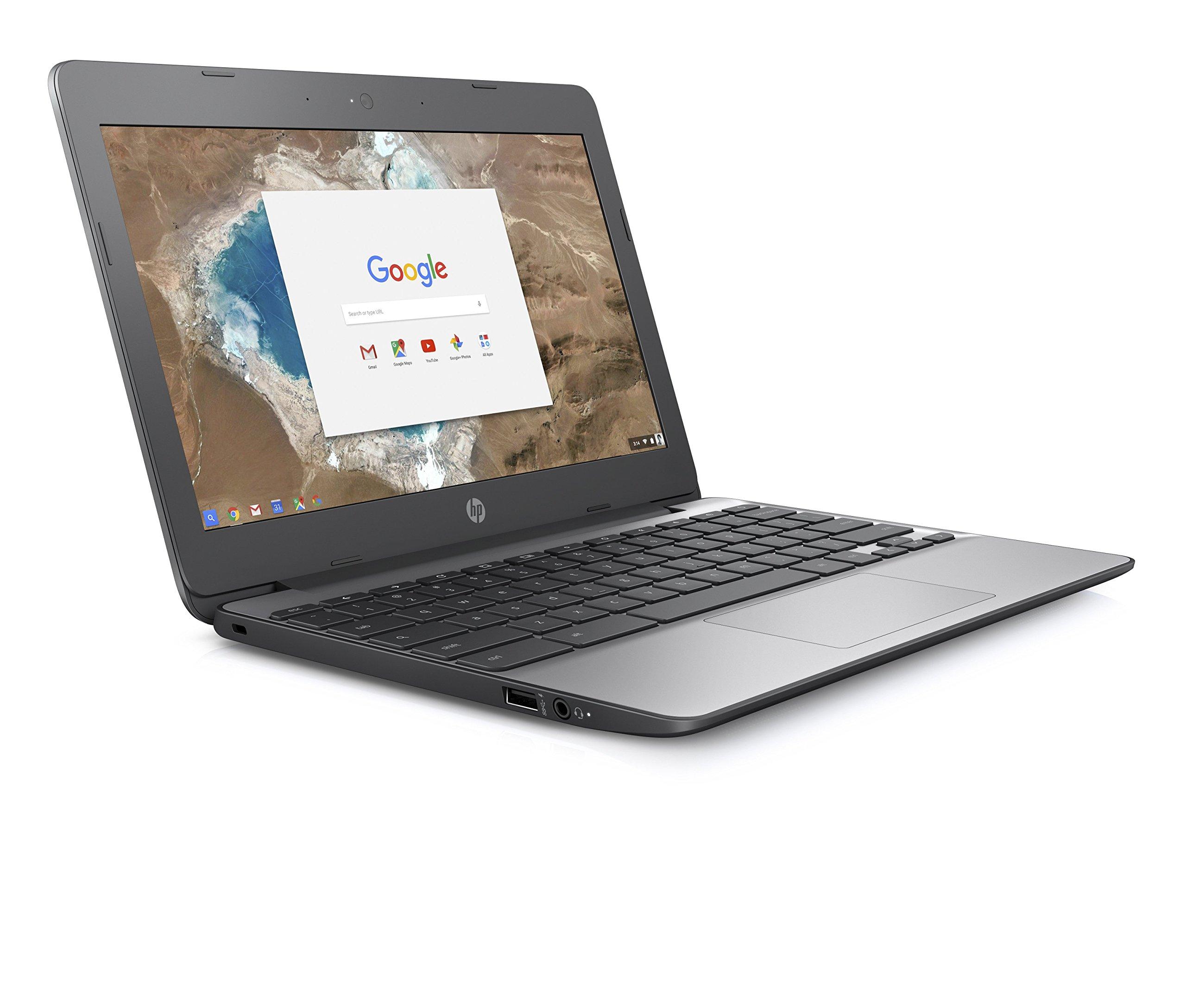 HP Chromebook ca000naノートブックコンピューター(Intel N3350、4 GB RAM、Intel HDグラフィック500、Chrome OS)Y3V73EA#ABU 4 GB RAM、16 GB eMMC 11.6インチ