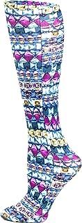Celeste Stein Therapeutic Compression Socks, Emerald Dazzle, 8-15 Mmhg, Mild