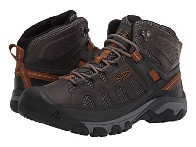Keen Targhee Vent Mid (Raven/Bronze Brown) Men