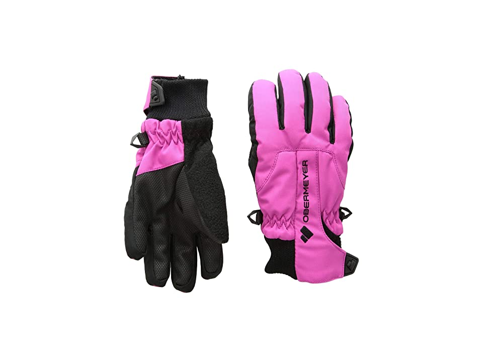Obermeyer Kids Thumbs Up Gloves (Little Kids/Big Kids) (Back To Fuchsia) Extreme Cold Weather Gloves