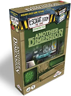 Escape Room The Game Expansion Pack – Another Dimension   Solve The Mystery Board Game for Adults and Teens (English Version)