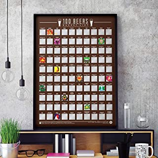100 beers poster