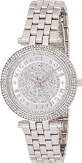 Michael Kors Womens Quartz Watch, Analog Display and Stainless Steel Strap MK3476