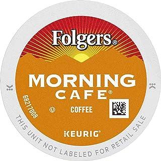 Folgers Morning Café Mild Roast Coffee, 192 Keurig K-Cup Pods