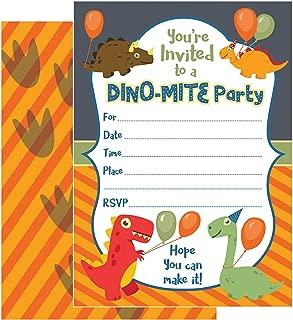 Best dinosaur birthday party invitations Reviews