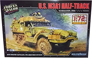 Forces of Valor 1/72scale US M3A1 Half Track Normandy 44