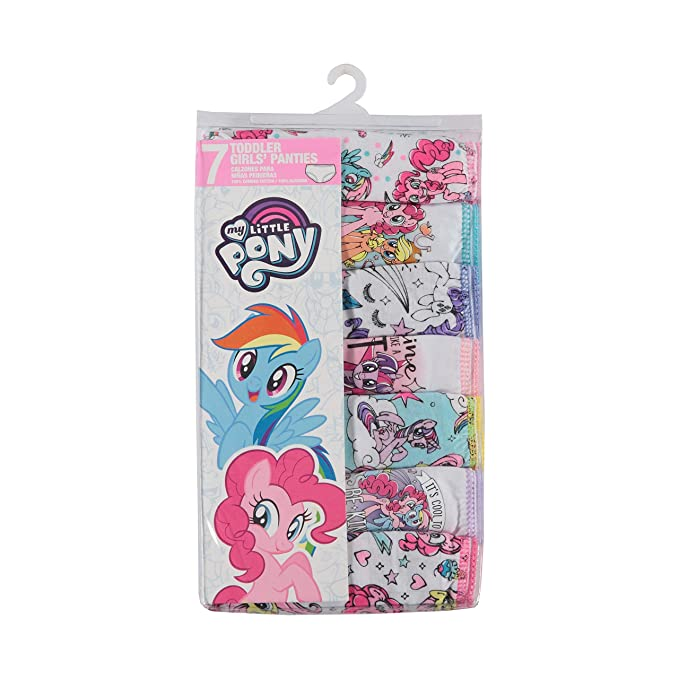 Mlp in panties base Handcraft Little Girls My Little Pony Rotating Print Underwear Set Pack Of 7 Multi 2 3t Amazon Sg Fashion