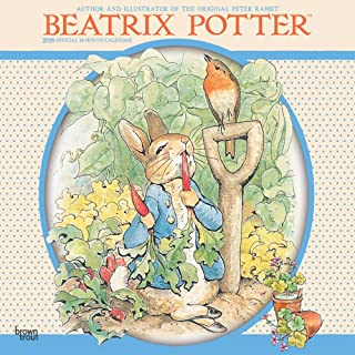 Beatrix Potter 2018 12 x 12 Inch Monthly Square Wall Calendar, Children Book The Tale of Peter Rabbit (Multilingual Edition)