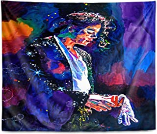 Dia Noche Wall Art Tapestry by David Lloyd Glover Final Performance Michael Jackson
