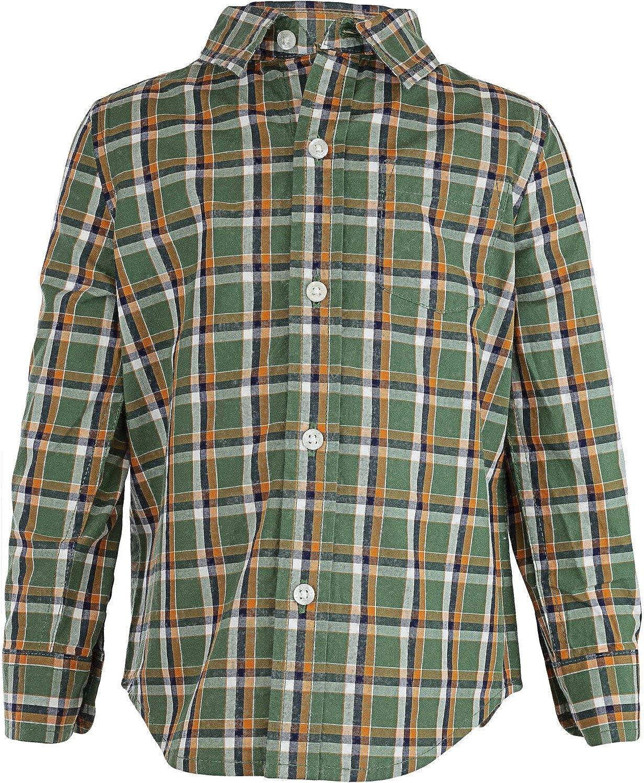 Janie and Jack A San Antonio Mall surprise price is realized Boy's Plaid Poplin Dre Button-Down Shirt