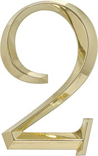 Whitehall Products Classic 6 Inch number 2 Polished Brass, 6 Inch