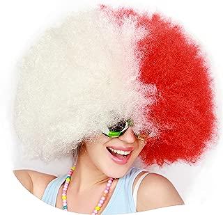 Kurop Unisex Afro Wig Fancy Costume Funny Wig Party Costume