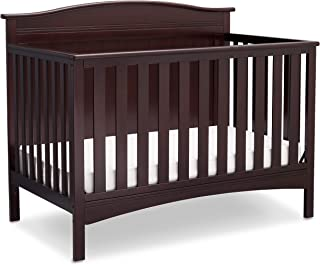 Delta Children Bennett 4-in-1 Convertible Baby Crib, Dark Chocolate