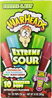 Best sour warhead freeze pops Reviews