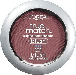 L'Oréal Paris True Match Super-Blendable Blush, Spiced Plum, 0.21 oz.