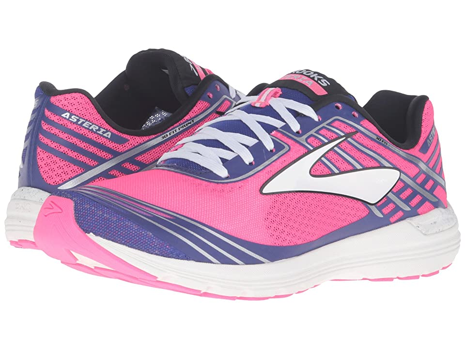 Brooks Asteria (Knockout Pink/Clemantis/Black) Women