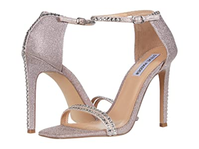 Steve Madden Collette Heeled Sandal (Blush Glitter) Women