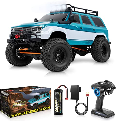 2021 1:10 2021 2021 Scale Large Rock RC Crawler - 4WD Off Road RC Cars - Remote Control Car 4x4 Electric Truck – Hobby Grade IPX5 Waterproof Trucks for Adults - RTR with 5Ch Remote, Battery and Charger online