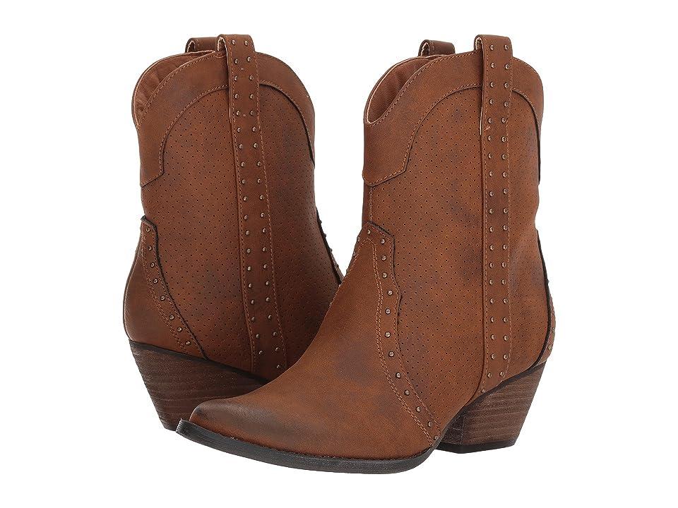 VOLATILE Montez (Tan) Cowboy Boots