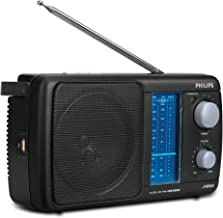 Philips 2 Bands Portable FM with USB(Black)