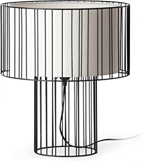 Faro Barcelona 29311 - LINDA Lampe de table noir