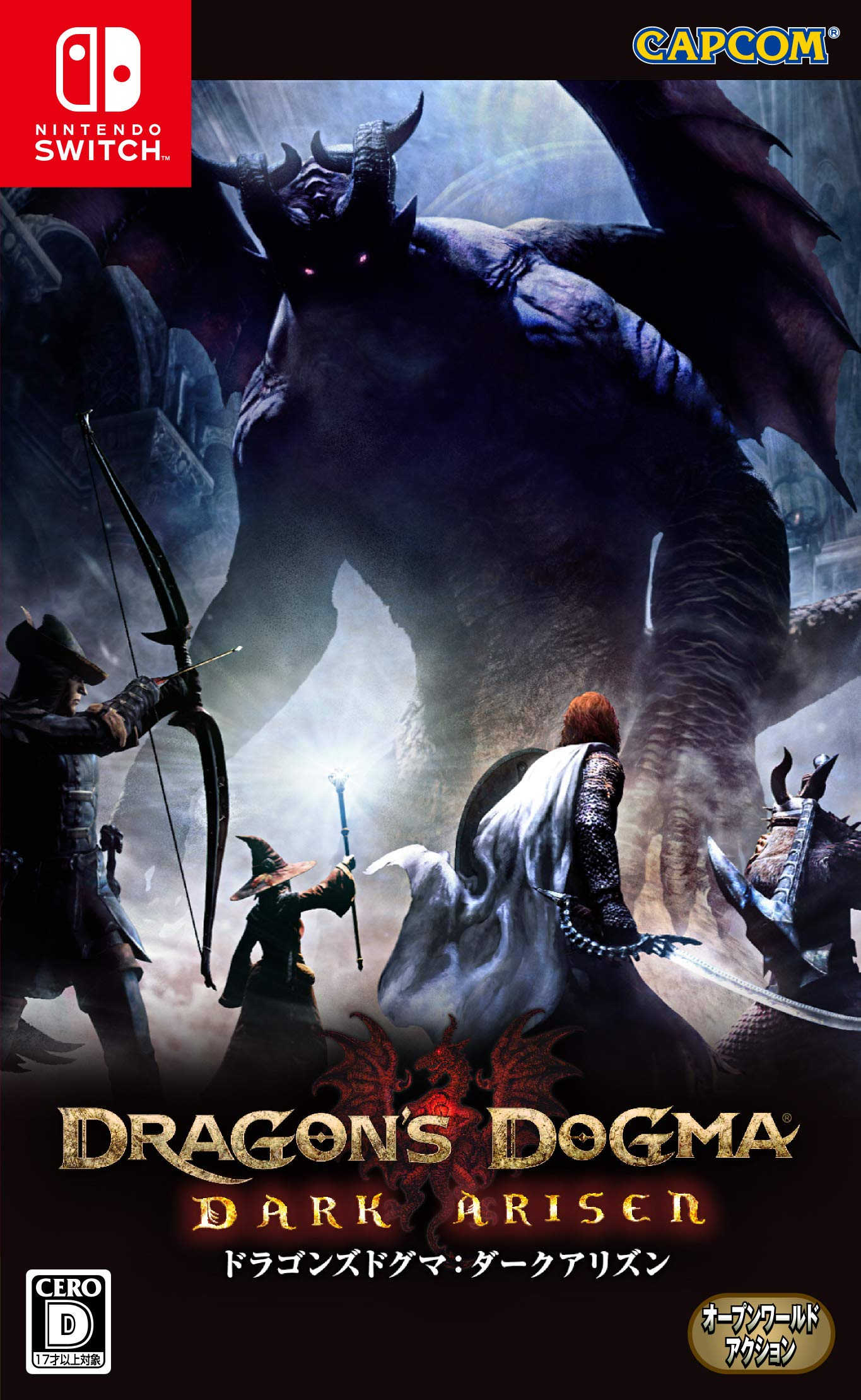 Capcom Dragons Dogma Dark Arisen NINTENDO SWITCH REGION FREE ...