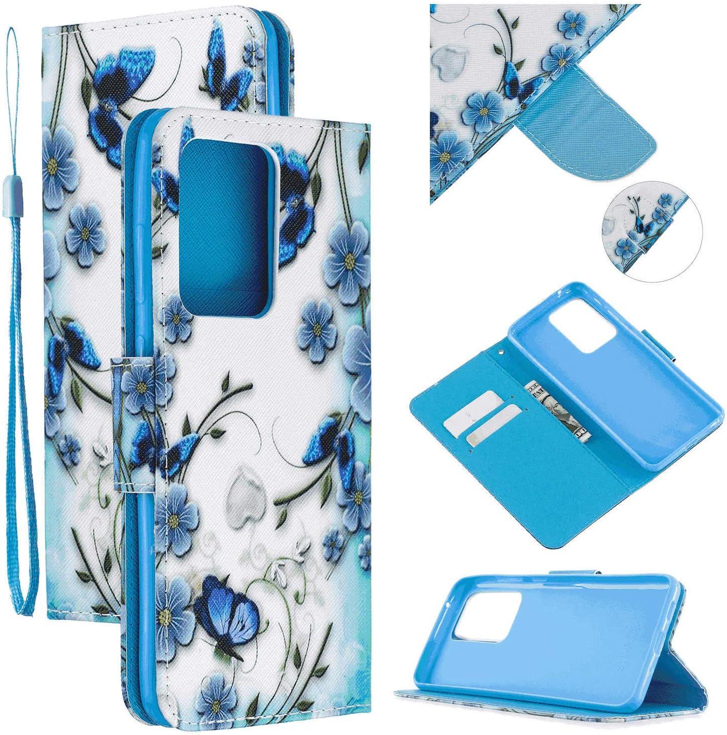 flower3 Wallet Case for Samsung Galaxy S10 Plus Leather Cover Compatible with Samsung Galaxy S10 Plus