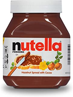 Nutella Chocolate Hazelnut Spread, Perfect Christmas Stocking Stuffer and Topping for Holiday Treats, 26.5 Ounce (Pack of 1)