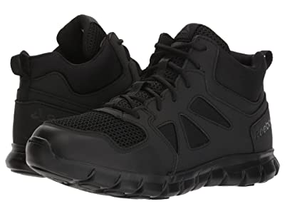 Reebok Work Sublite Cushion Tactical Mid (Black) Men