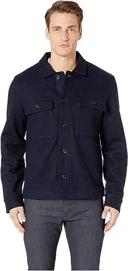 Boucle Shirt Jacket