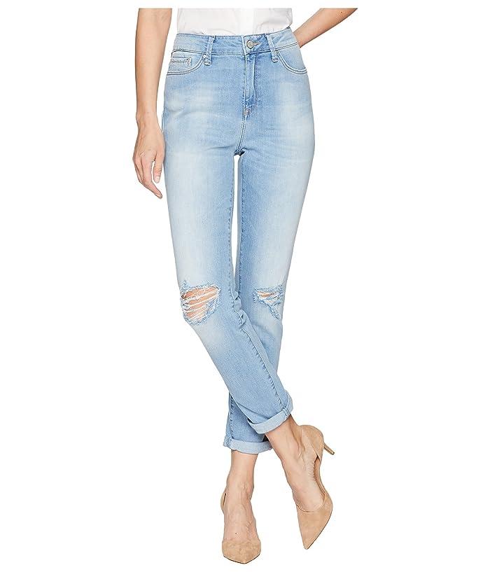 4d9401babb1 Mavi Jeans Lea High-Rise Boyfriend in Light Ripped Vintage at 6pm