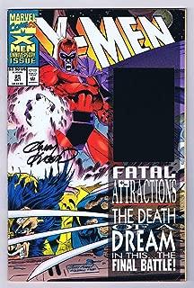 X-Men #25 VF Blue Hologram Signed w/COA by Andy Kubert 1993 Marvel Comics