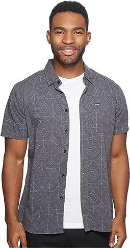 Volcom - Geo Print Short Sleeve Woven Shirt