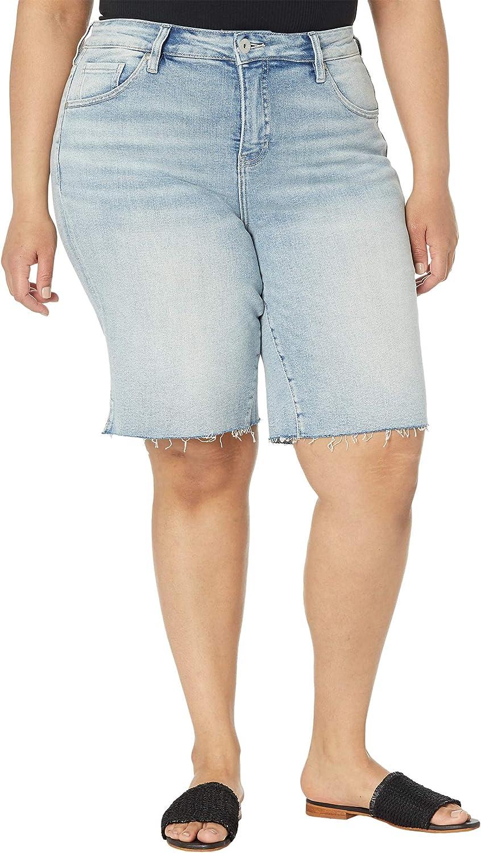 Jag Jeans Women's Size Plus The City Short High Rise