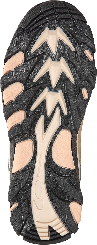 Chaussures durables Le Camping Semelle en Caoutchouc Mountain Warehouse Boots imperm/éables Rapid pour Femmes Rev/êtement en Daim et Maille pour Les Voyages