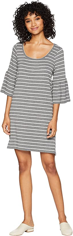 Shades Of Cool Striped Dress