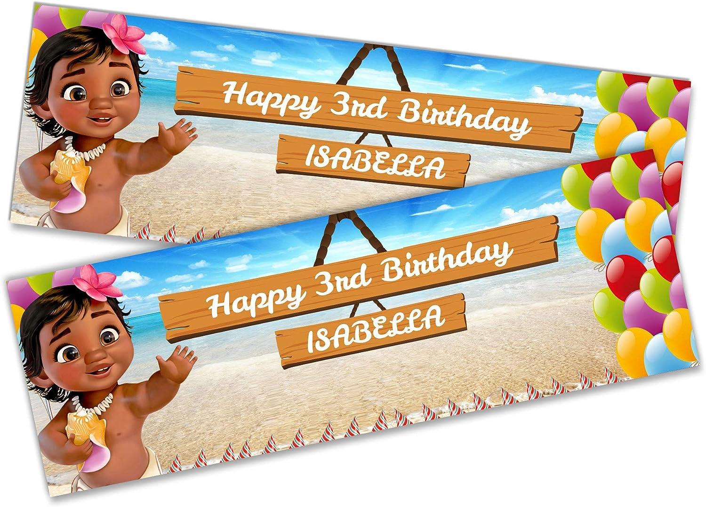 Details about  /x2 Personalised Birthday Banner Toddler Design Children Kids Decoration 24