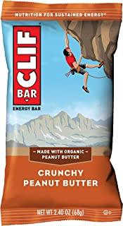 CLIF BAR – Energy Bars – Crunchy Peanut Butter – (2.4 Ounce Protein..