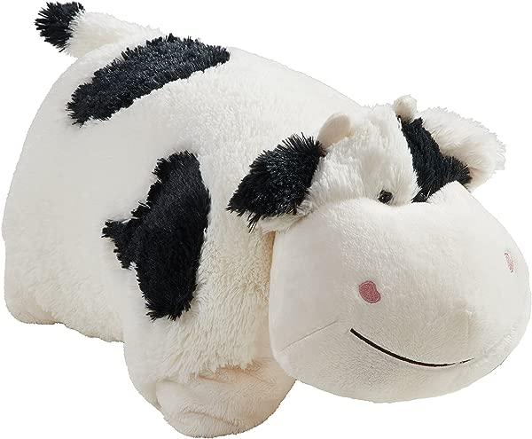Pillow Pets Signature Cozy Cow 18 Stuffed Animal Plush Toy
