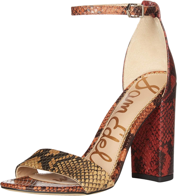Sam Directly managed store Edelman Women's Yaro Block Rare Heel Sandals